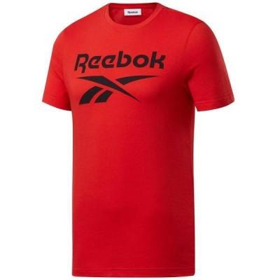 リーボック メンズ シャツ トップス Reebok Men's Big Logo Short Sleeve T-Shirt