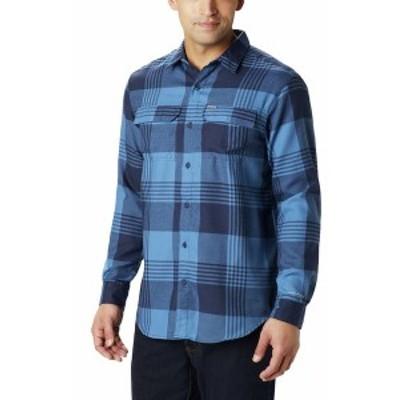 コロンビア メンズ シャツ トップス Silver Ridge 2.0 Flannel Shirt - Men's Scout Blue Buffalo Plaid