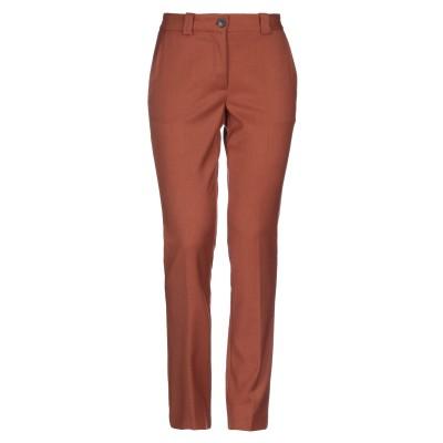 ロートレ ショーズ L' AUTRE CHOSE パンツ 赤茶色 46 ポリエステル 62% / レーヨン 35% / ポリウレタン 3% パンツ