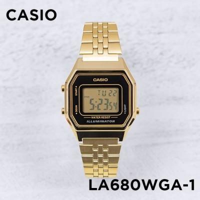 10年保証 日本未発売 CASIO カシオ スタンダード レディース LA680WGA-1 腕時計 キッズ 子供 女の子 チープカシオ チプカシ デジ
