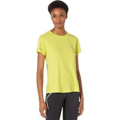 ツータイムズユー 2XU レディース Tシャツ トップス Aero T-Shirt Limelight/Silver Reflective