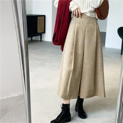 ロングスカート aラインスカート ギャザー フレアスカート ボトムス aライン レディース 上品 オフィス 着痩せ ポイント消化 秋 冬 きれいめ