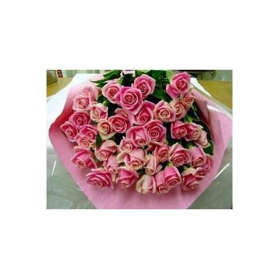 ピンクバラ【本数指定でピンクバラの花束】出来ます バラ 生花 花束 誕生日 プレゼント 1本 価格 1本から買えます