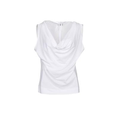 SHE WISE T シャツ ホワイト 42 コットン 100% T シャツ