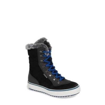 サンタナカナダ レディース ブーツ&レインブーツ シューズ Mixx Faux Fur Waterproof Boot BLACK SUE