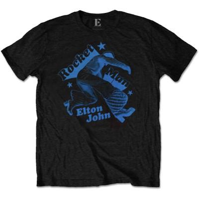ELTON JOHN エルトンジョン (初来日50周年 ) - Rocketman Jump / Tシャツ / メンズ 【公式 / オフィシャル】(S)