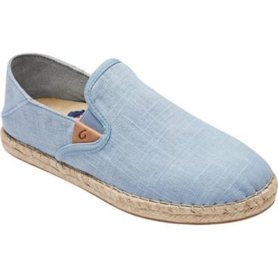 オルカイ サンダル シューズ レディース Kaula Pa'A Kapa Slip On Sneaker (Women's) Lanai Breeze/Lanai Breeze Linen Canvas