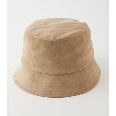 ECO SUEDE BUCKET HAT BEG