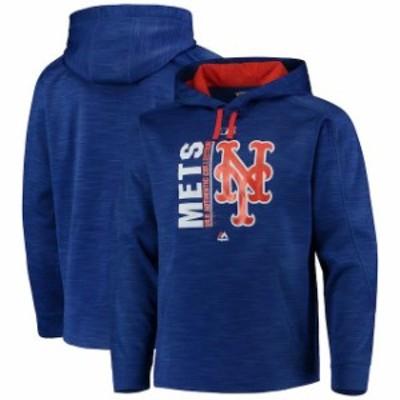 Majestic マジェスティック スポーツ用品  Majestic New York Mets Royal/Orange Authentic Collection Icon Streak Fleec