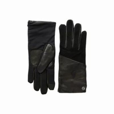 エコー 手袋・グローブ Leather Block Superfit Gloves Echo Black