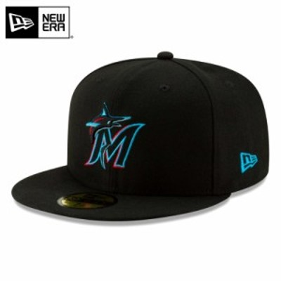 【T】【メーカー取次】NEW ERA ニューエラ 59FIFTY MLB On-Field マイアミ・マーリンズ ブラック 12026663 キャップ / 帽子 夏新作 送料