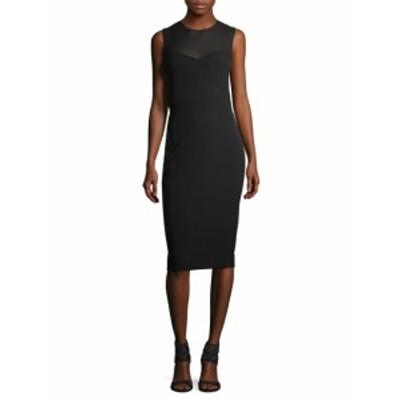 ビクトリアベッカム レディース ワンピース Bustier Silk Bodycon Dress