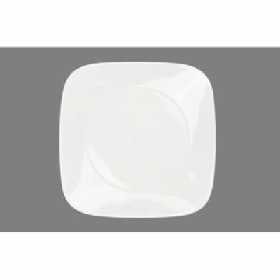 コレール ウインターフロスト ホワイト スクエア皿 大 J2213-N RKL5501