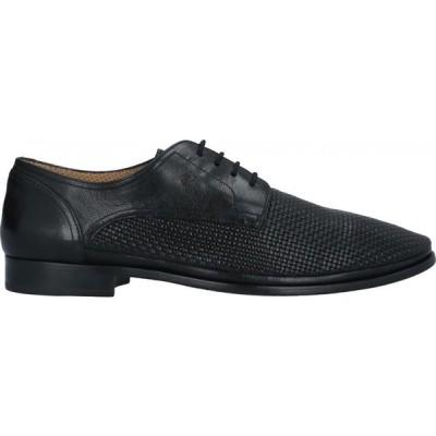 ガリツィオ トレッシ GALIZIO TORRESI メンズ 革靴・ビジネスシューズ シューズ・靴 Laced Shoes Black