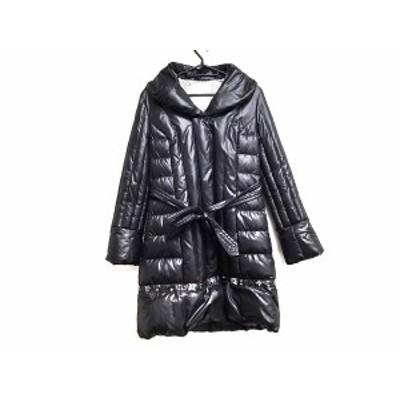 チェスティ Chesty ダウンコート サイズ0 XS レディース 美品 黒 ビジュー/フェイクパール/冬物【中古】20191128