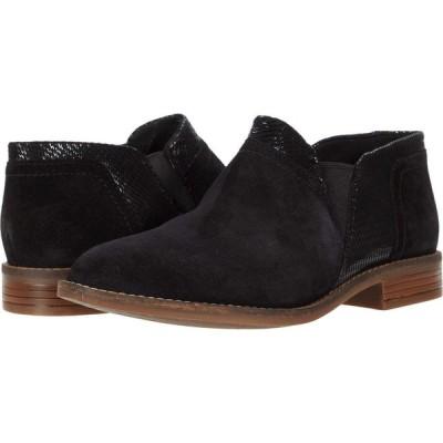 クラークス Clarks レディース ブーツ シューズ・靴 Camzin Mix Black Suede Metallic Combination