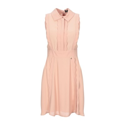 ELISABETTA FRANCHI ミニワンピース&ドレス サンド 46 レーヨン 100% ミニワンピース&ドレス