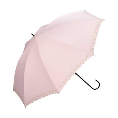 Wpc./KiU / 遮光フレームスタースカラップ刺繍 WOMEN ファッション雑貨 > 長傘