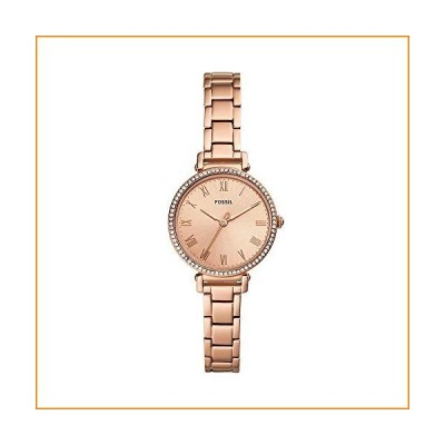 Fossil Women's Kinsey Three-Hand Rose Gold-Tone Stainless Steel Watch ES4447並行輸入品