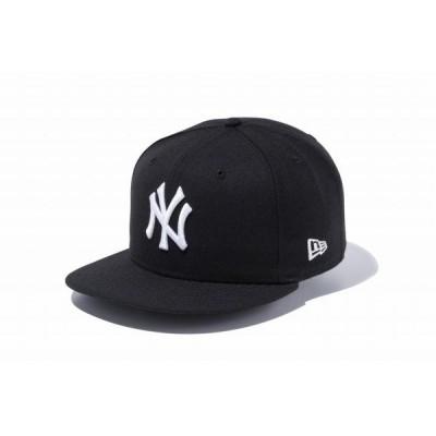 ニューエラ(NEW ERA) 9FIFTY ニューヨーク・ヤンキース ブラック/ホワイト 12336621