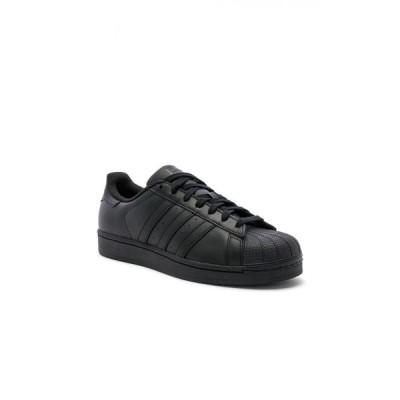 アディダス adidas Originals メンズ スニーカー シューズ・靴 Superstar Foundation Black & Black & Black
