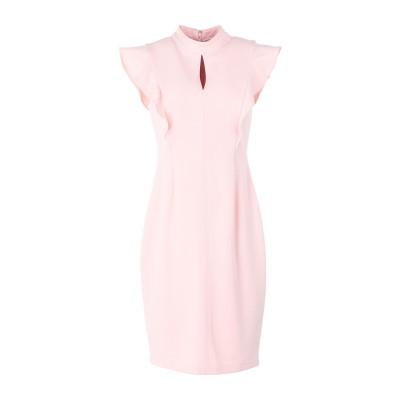DKNY ミニワンピース&ドレス ライトピンク 0 ポリエステル 94% / ポリウレタン 6% ミニワンピース&ドレス