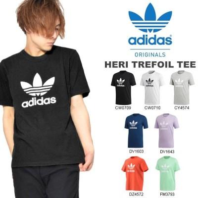 半袖Tシャツ adidas アディダス オリジナルス メンズ レディース HERI クルーネック ロゴTシャツ EKF76 2020春新色