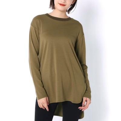 襟リブニットTシャツ