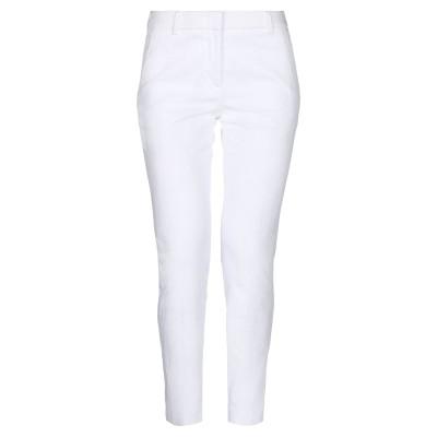 PESERICO SIGN パンツ ホワイト 46 コットン 97% / ポリウレタン 3% パンツ
