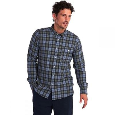 バブアー Barbour メンズ シャツ トップス Brownsea Shirt Green