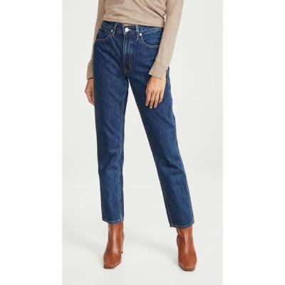 シルバーレーク SLVRLAKE レディース ジーンズ・デニム ボトムス・パンツ Virginia High Rise Tapered Leg Jeans Claremont