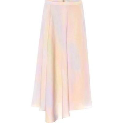 ヴィンス Vince レディース ひざ丈スカート スカート Printed midi skirt Multi