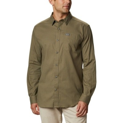 コロンビア シャツ トップス メンズ Columbia Sportswear Men's Vapor Ridge III Long Sleeve Shirt Green