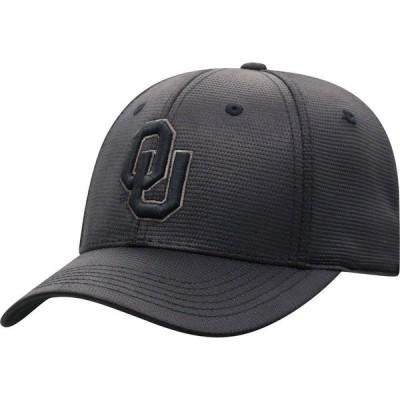 トップオブザワールド Top of the World メンズ キャップ 帽子 Oklahoma Sooners Grey Powertrip 1Fit Flex Hat