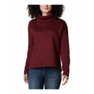 コロンビア レディース ニット・セーター アウター Chillin¢ Fleece Pullover Marsala Red Sma