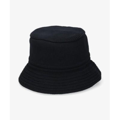OVERRIDE / 【OVERRIDE】KNIT BUCKET COTTON MEN 帽子 > ハット