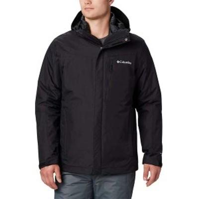 コロンビア メンズ ジャケット・ブルゾン アウター Columbia Men's Whirlibird IV Interchange Jacket Black
