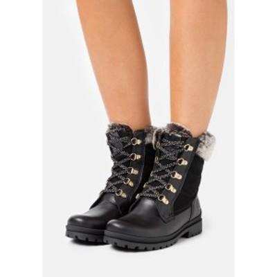 パナマ ジャック レディース ブーツ&レインブーツ シューズ TUSCANI - Lace-up ankle boots - black black