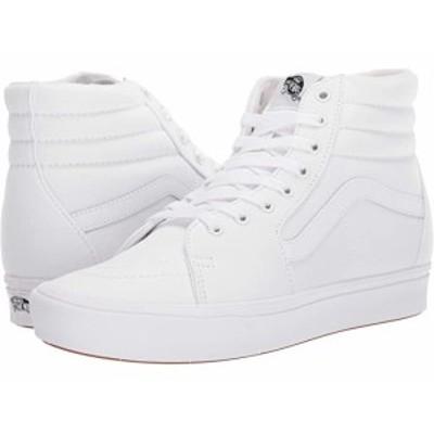 (取寄)バンズ コンフィクッシュ SK8 ハイ Vans ComfyCush SK8-Hi (Classic) True White/True White