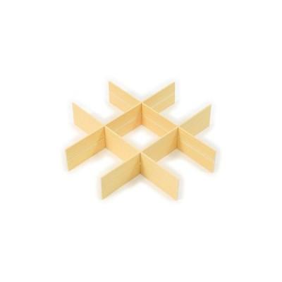 重箱 V-BOX用 ミルクカートン 井桁仕切 大黒工業 (7寸)