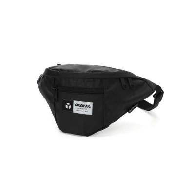 ヤックパック ファニーバッグ(PUコーティング) ヒップバッグ [カラー:ブラック] [サイズ:W34×H20×D11cm(2L)] #8125331-01 YAKPAK FUNNY BAG