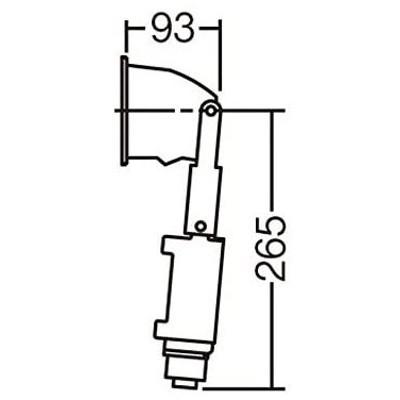 Panasonic LED ウォッシャライト 天井壁埋込型 100形 温白色 LGB80546LB1