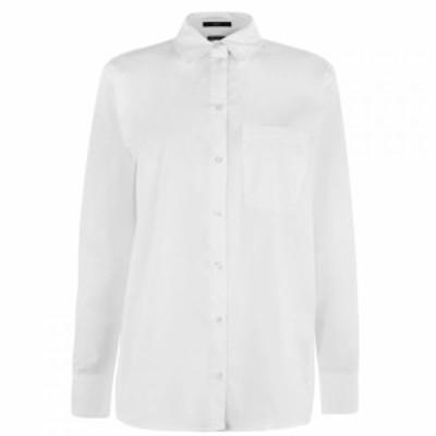 セット SET レディース ブラウス・シャツ トップス Classic Shirt White