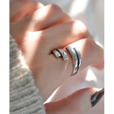 指輪 F&D : ツインラインリング