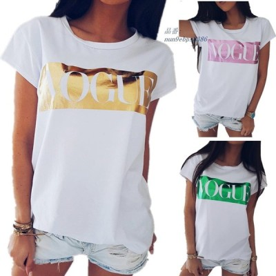 7 色 女性 流行 プリント T シャツ 女性 手紙プリントトップ夏 半袖 ファッション Tシャツ レディース Tシャツ プル オーバー s 2XL グループ上 レディース