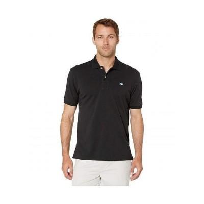 Southern Tide メンズ 男性用 ファッション ポロシャツ Skipjack Polo - Midnight Black