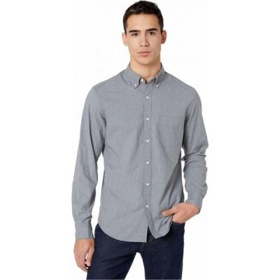 ジェイクルー J.Crew メンズ シャツ スリム トップス Slim Stretch Secret Wash Shirt in Heathered Organic Cotton Smoky Slate