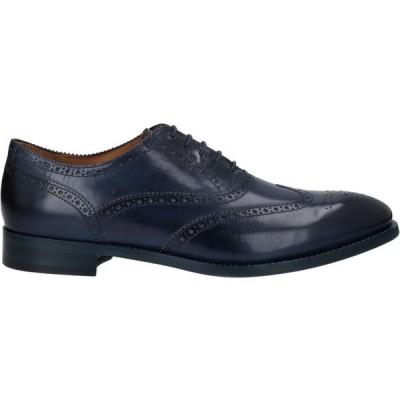 ポールスミス PS PAUL SMITH メンズ シューズ・靴 laced shoes Dark blue