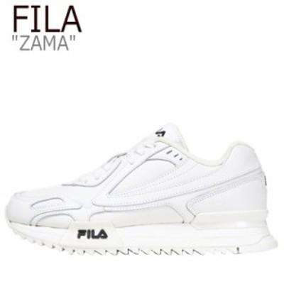 フィラ スニーカー FILA メンズ レディース ZAMA ザマ OFF WHITE オフ ホワイト FS1RIB3290X シューズ
