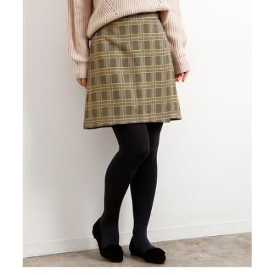 ラップ風スカートパンツ